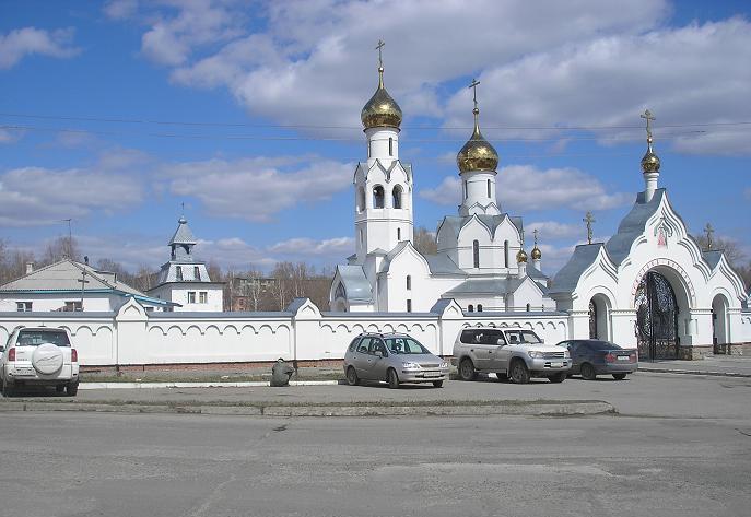 Новосибирск.Храм Во Имя Архистратига Михаила